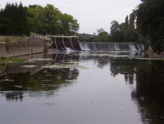 barrage du pont de Brie